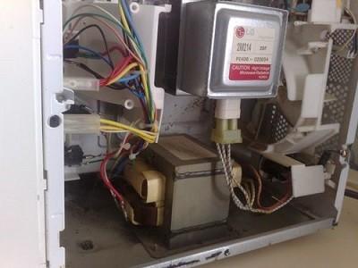 Основные неполадки в микроволновках LG